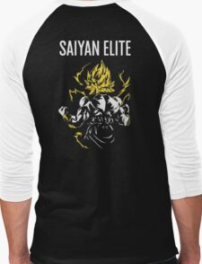 Saiyan Elite Men's Baseball ¾ T-Shirt