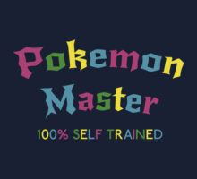 Self Trained Pokemon Master - Neon by LucieDesigns