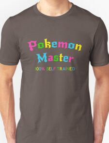 Self Trained Pokemon Master - Neon T-Shirt