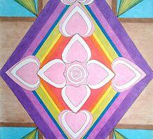 Rustic Cross by Janette Oakman