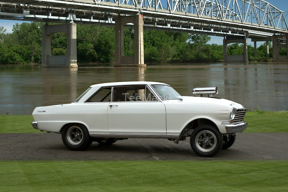 1963 Chevy Nova Pro Street Dragster by TeeMack