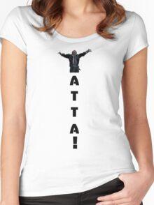 Yatta! Hiro Nakamura Women's Fitted Scoop T-Shirt