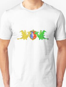 Dragon Crest Cute Cartoon Dragons T-Shirt