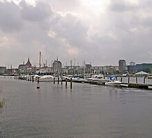 A VIEW OF ROSTOCK GERMANY by konkan