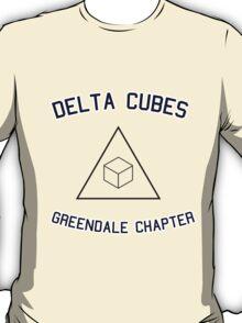 Delta Cubes (Greendale chapter) tee T-Shirt