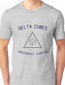 Delta Cubes (Greendale chapter) tee Unisex T-Shirt