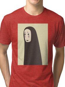 Studio Ghibli - Minimalistic No Face Tri-blend T-Shirt