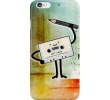 Old School Cassette Tape iPhone Case/Skin