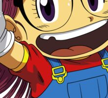 Arale Dr Slump Sticker