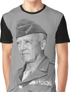 General George S. Patton Graphic T-Shirt