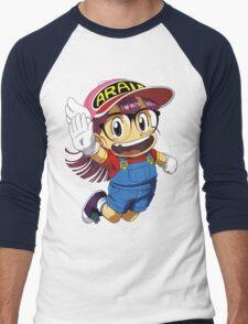Arale Dr Slump Men's Baseball ¾ T-Shirt