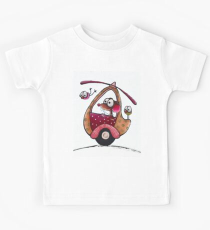 The Helicopter Kids Tee