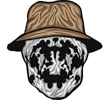 Rorschach Mask Photographic Print