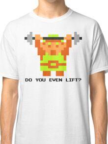 Do You Even Lift? 8-bit Link Edition v2 Classic T-Shirt