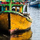 Indonesian fishing Boat by 1bluecanoe