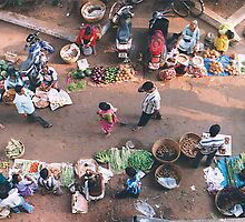 Early Morning Vegetable Market by TINESH KALRA