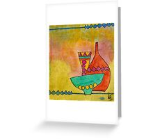 Summer Decor Still Life -WIP Greeting Card