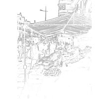 The fruit stall Photographic Print