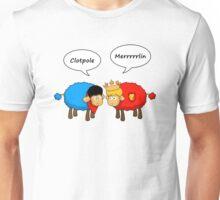 Sheep Merlin  and Arthur... Merrrrrrlin Unisex T-Shirt