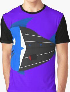 Mafia boss fish Graphic T-Shirt