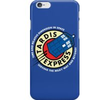 Tardis Express Futurama Doctor Who iPhone Case/Skin