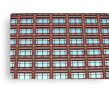 facade of the building Canvas Print
