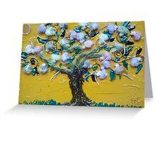 Tree of Life - Mixed Media  Greeting Card