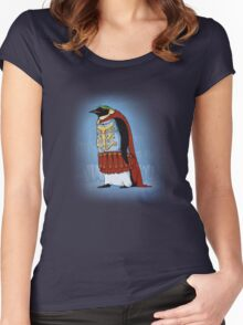 The Majestic Emperor Penguin Women's Fitted Scoop T-Shirt