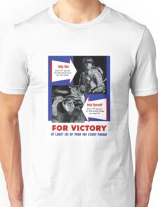 Help Him For Victory -- WWII Unisex T-Shirt