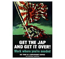 Work Where You're Needed -- World War Two Photographic Print