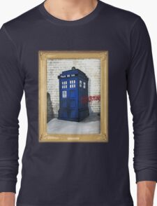 Dalek Gettin Up Long Sleeve T-Shirt