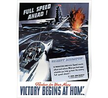 Produce For Your Navy -- Victory Begins At Home! Poster
