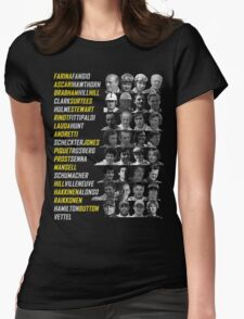 F1 Champions Womens Fitted T-Shirt