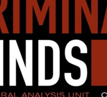 criminal minds logo Sticker