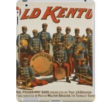 Vintage poster - In Old Kentucky iPad Case/Skin