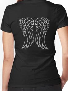 Wings Tee Women's Fitted V-Neck T-Shirt