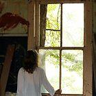 Big Old Window by Starsania