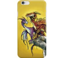Cliff Couple Dragons iPhone Case/Skin