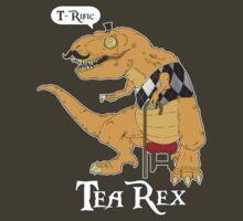 Tea Rex by ziggyzombie