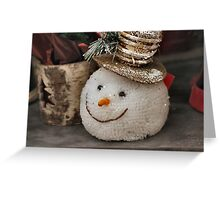 He lost his head over Christmas Greeting Card