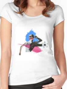 8D Women's Fitted Scoop T-Shirt
