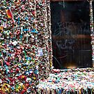 Gum Wall Seattle by INFIDEL