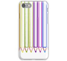 Color pencil iPhone Case/Skin