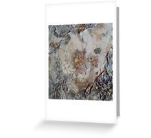 Mother of Pearl and Gold Greeting Card