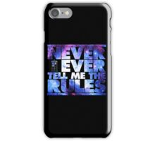 Lay Down The Law iPhone Case/Skin