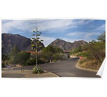Chisos Mountain Lodge - Big Bend National Park in June Poster
