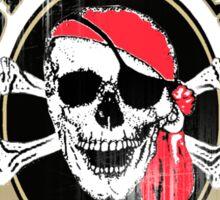 captain jacks Sticker