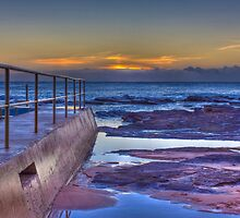 Sunrise / Collaroy Beach by Dean Cunningham