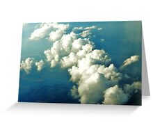 Another Cloud Formation Over Atlantic Greeting Card