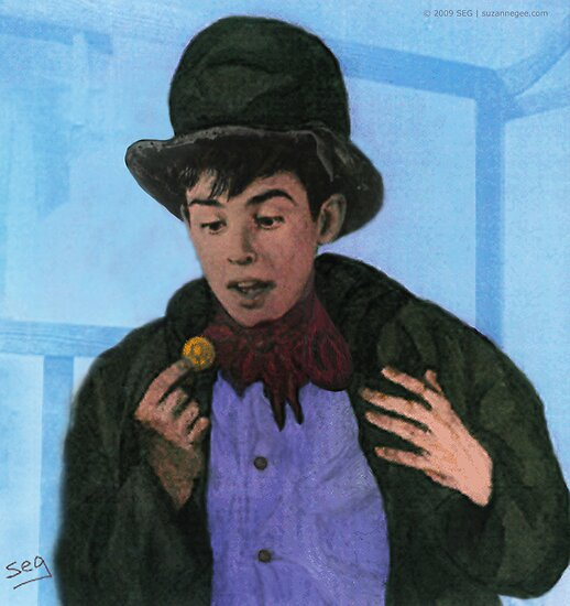 Davy Jones as The Artful Dodger by Suzanne  Gee